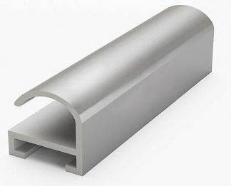 Ал.проф №6 ПН-06 анод.матовое серебро, 3.05
