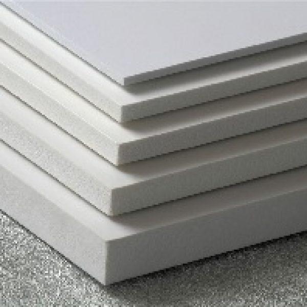 Лист ПВХ 6мм, 2050х3050мм, белый, Ongrofoam (Венгрия)