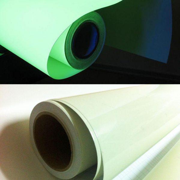 Светонакопительная пленка WH513B 1,24х45,7м, light green (560 мин. послесвечение)